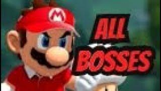 Mario Tennis Aces - All Bosses [Custom Soundtracks]