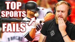 Reacting To Funny Sports Fails That SHOULD Go Viral!