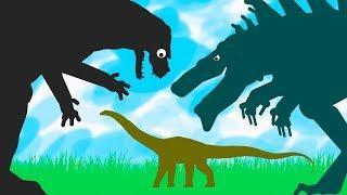 Godzilla vs Diplodocus vs Zilla | Funny Dinosaurs Cartoons for Children | Godzilla Cartoons
