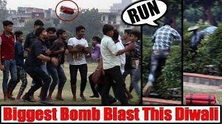run bomb prank
