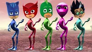 Wrong Dress PJ Masks Funny Alien Dance Fun Song Learn Colors For Kids