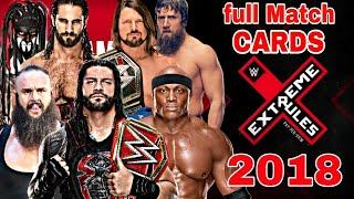 Extreme Rules 2018 Full Match Cards & Results Highlights || Wrestling Hindi Khabar ||