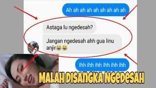 Prank Text pake lagu WIK WIK WIK AH AH AH (Version Indonesia) ngakak malah disangka ngedesah