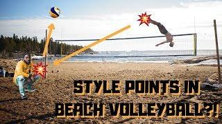 Style Points For Growing The Game Of Beach Volleyball??!