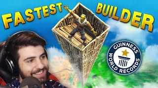 FASTEST BUILDER IN THE WORLD!? | Fortnite Funny Moments Ep.187 (Fortnite Battle Royale)