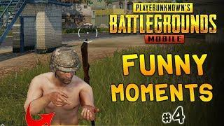 New PUBG Mobile Funny Moments Glitches, Bugs, Fails & wins Compilation #4 | PUBG WTF moments