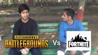Pubg Vs Fortnite | Funny video