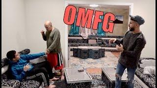 14 YEAR OLD HAS A GIRLFRIEND PRANK ON STRICT GRANDPA!!