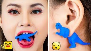 Girl DIY! 18 FUNNY DIY TOYS PRANKS! Funny Pranks / Prank Wars - FUN WAYS TO RECYCLE OLD TOYS