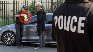 REVERSE POLICE PRANK  on MAGIC  MURRAY !!????????♀️ -Julien Magic