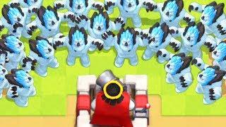 100 ICE GOLEMS ATTACK!!! ULTIMATE Clash Royale Funny Moments - Clash LOL Monthly Review