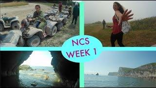 NCS week 1// Meeting new friends/extreme sports
