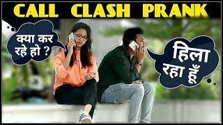 Epic CALL CLASH PRANK in india !! call crash prank by 3 JOKERS