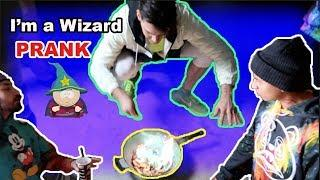 I'm a WIZARD PRANK on RUNIKTV (He Flashed Out) **MUST WATCH**