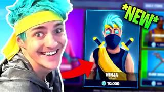 NINJA SKIN REVEALED *COMING SOON?* - Fortnite Funny Fails & Epic Twitch Moments! #5