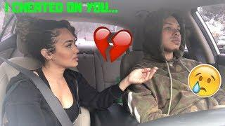 I CHEATED ON YOU PRANK ON BOYFRIEND! ** HE BREAKS UP WITH ME! **