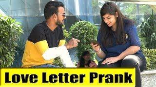 Love Letter Prank | Bhasad News | Pranks in India