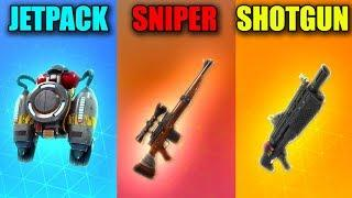 JETPACK vs SNIPER vs SHOTGUN in Fortnite Battle Royale! (Fortnite Funny Fails and Best Moments) #34
