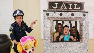 Jannie Pretend Play w/ Funny Jail & Skye Ride on Toys
