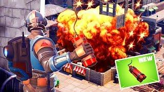 Dynamite Is Overpowered As Hell Fortnite Twitch Funny Moments 256