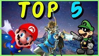 TOP 5 ★ Nintendo SOUNDTRACKS | Underchomp