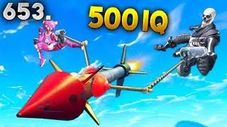 500 IQ GRAPPLER TRICKS.. Fortnite Funny WTF Fails and Daily Best Moments Ep.653