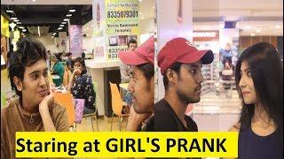 STARING AT GIRL'S IN INDIA PRANK | PRANK ON CUTE GIRL'S | PRANK IN INDIA | PART - 2 | Vishal Sonar |