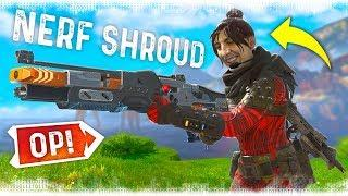 SHROUD + MOST OP WEAPON = WIN!! - Best Apex Legends Funny Moments and Gameplay - Ep.1