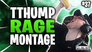 Tthump Rage And Funny Moments *Random Duos* | Fortnite Rage Compilation #53