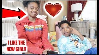 MYKEL LIKE THE NEW GIRL PRANK ON FUNNYMIKE!