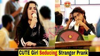 Cute Girl SEDUC!NG STRANGERS Prank | Hilarious reactions???? | Indian pranks | Prank in India 2019