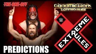 WWE Extreme Rules 2018 (Early) PREDICTIONS
