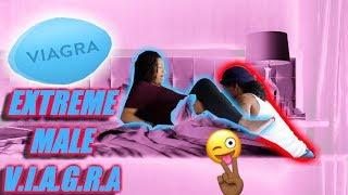 EXTREME MALE V.I.A.G.R.A PRANK ON BOYFRIEND!!! (HE GETS NASTY!)