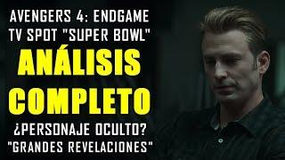 "¡LO QUE NO VISTE! Impresionante TV Spot Avengers ""Endgame"" Super Bowl (Teaser Trailer) | ANÁLISIS"