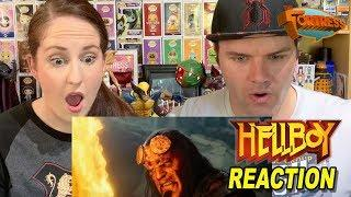 Hellboy (2019) Red Band Trailer REACTION!