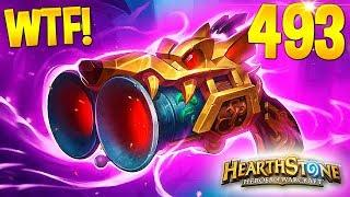 HEARTHSTONE Best Daily FUNNY and WTF Moments 493!