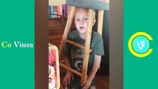 Try Not To Laugh Watching Funny Kids Fails Compilation February 2019 #1 - Co Vines✔