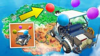 HOW TO MAKE FLOATING GOLF KART! | Fortnite Funny Moments Ep.99 (Fortnite Battle Royale)