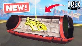 NEW L-STAR WEAPON LEAKED IN-GAME!.. Apex Legends WTF & Funny Moments