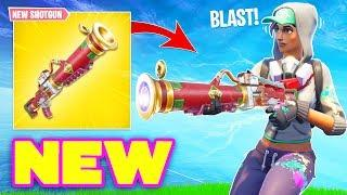 *NEW* SHOTGUN BLAST WEAPON COMING!? (Fortnite Battle Royale) Fortnite Epic & Funny Moments #160