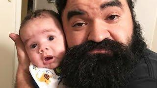 Funny Daddy And Baby Compilation - Video  Baby Moments
