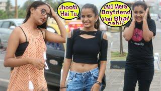 meri maa ko damaad chahiye prank | prank on Cute girl | Raksha Bandhan  prank | {BR-bhai}