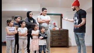 MY FAMILY PRANKED ME!! *family prank wars*
