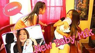 NEW BABY 'PRANK' (naiyak siya)