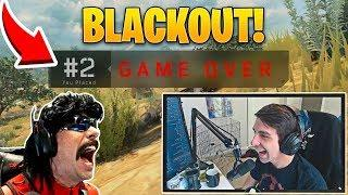Streamers First Look at Call of Duty Blackout Battle Royale! (Epic and Funny Moments!)