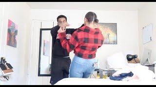 HICKEY PRANK ON BOYFRIEND!!! (He Pushed Me Sooo Hard!????)