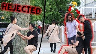 PROPOSAL PRANK TURNS INTO BREAK UP! (REJECTION)