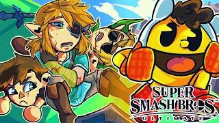 There is no stopping BasicallyIDoWrk in Smash Bros... (Super Smash Bros Ultimate Funny Moments)