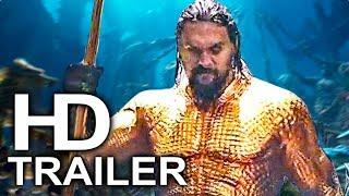 AQUAMAN Trailer #2 NEW (2018) Superhero Movie HD