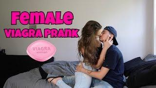 FEMALE VIAGRA PRANK ON GIRLFRIEND!!!